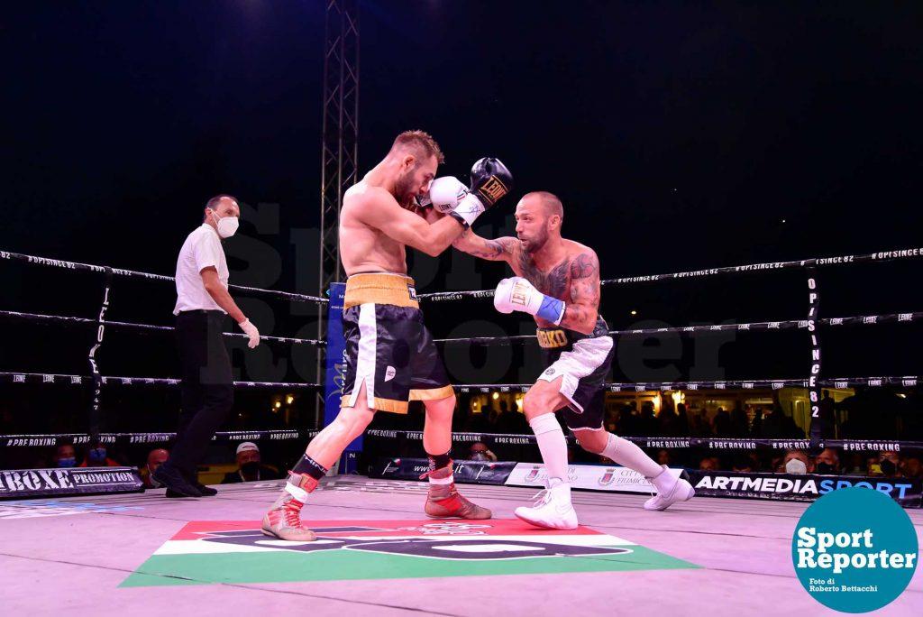 Boxe - Di Carlantonio vs. Papasidero - Titolo Italiano Super Wel