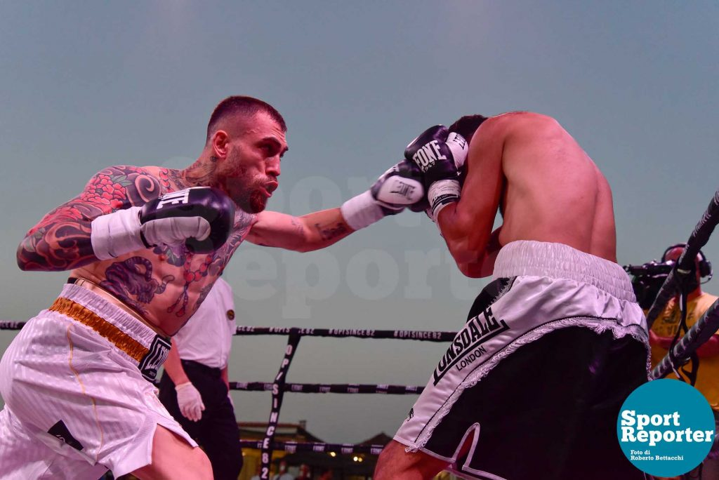 Mauro Forte vs. Romin Airapetean (piuma 6 riprese)