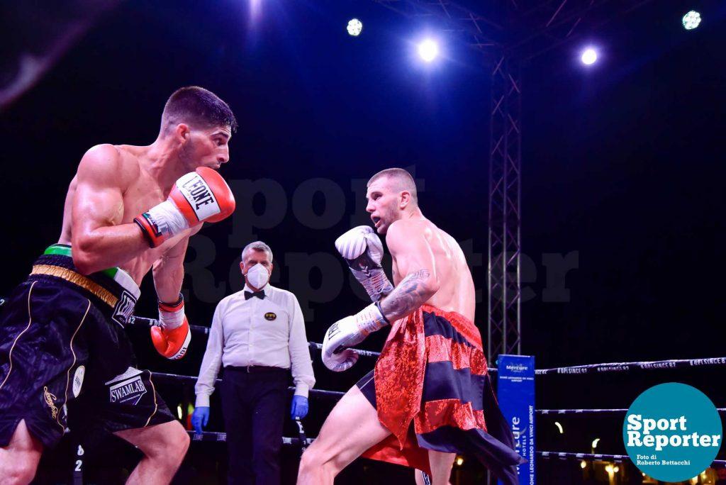 Mirko Natalizi vs. Dmytro Sherbyna (super welter 6 riprese)