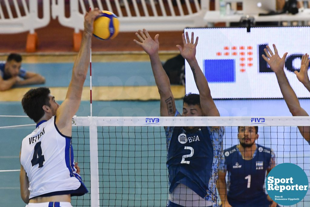 Italy Vs Argentina Test Match Volley